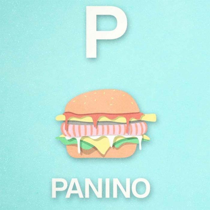 """Alfabeto in Lis - """"P come Panino"""""""