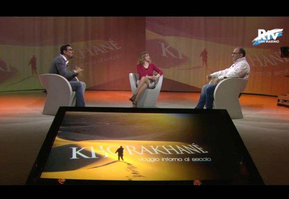 intervista capirsi per conoscersi al programma tv khorakhane