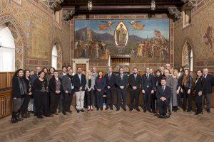 Udienza Capitani Reggenti presso palazzo del governo di San Marino